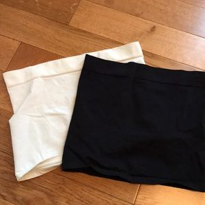 Two Maternity belly bands